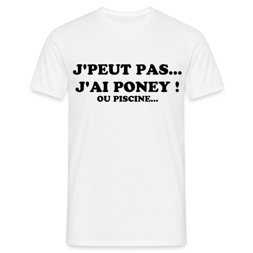 PONEY! - T-shirt Homme