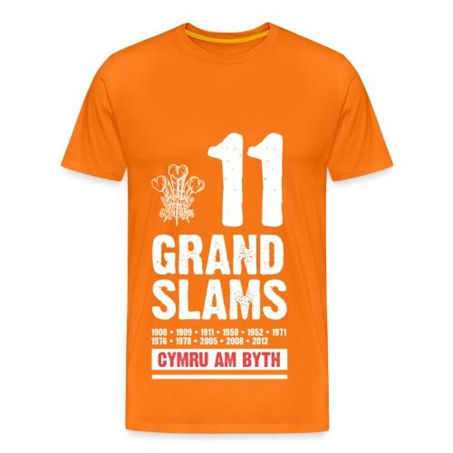 '11 Grand Slams' Premium T-Shirt (Mens) - Men's Premium T-Shirt