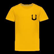 Paidat ~ Lasten premium t-paita ~ Keltainen lasten T-paita