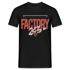 T-shirt noir Factory 243 Artwork  - T-shirt Homme