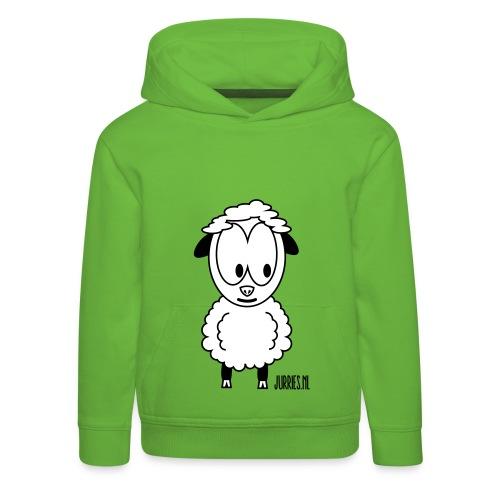 Sweater Wolle - Kinderen trui Premium met capuchon
