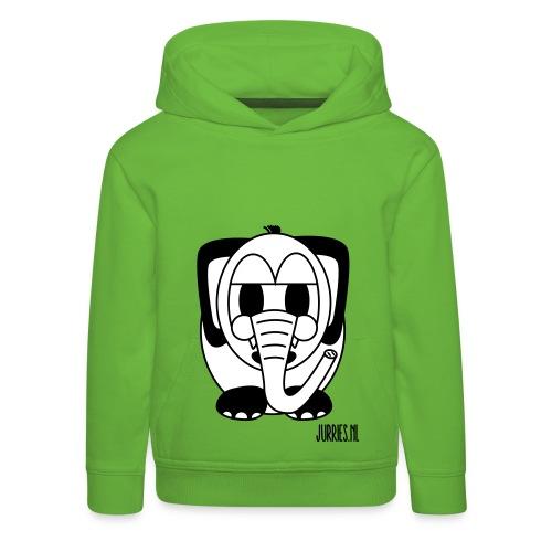 Sweater Okke - Kinderen trui Premium met capuchon