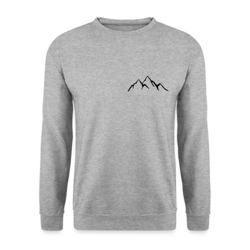 Sweat-shirt Homme Montagne - Sweat-shirt Homme