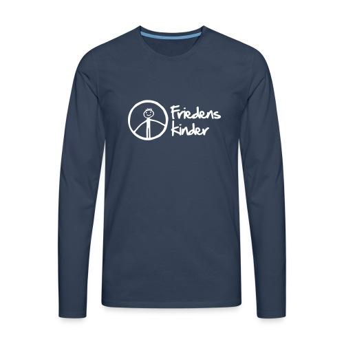 Herren Langshirt Friedenskinder - Männer Premium Langarmshirt