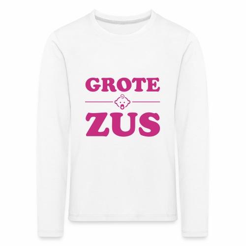 Grote Zus - Lange mouw - Kinderen Premium shirt met lange mouwen