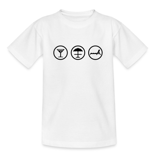 kidz::shirt::holiday - Teenager T-Shirt