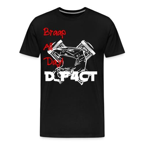 D_F4CT Casual T-Shirt - Mannen Premium T-shirt