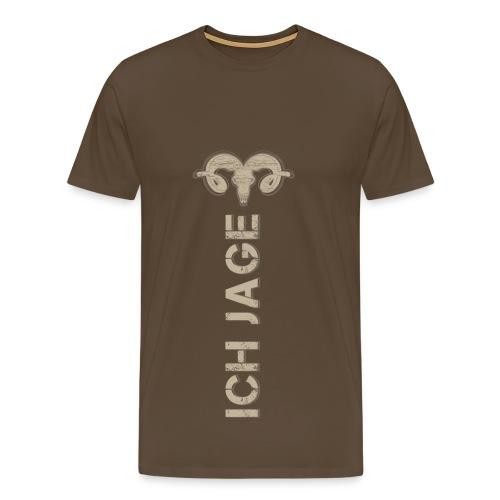 Ich jage! - Herren T-Shirt Jagd - Männer Premium T-Shirt