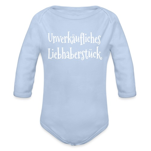 Langarm-Body Liebhaberstück - Baby Bio-Langarm-Body