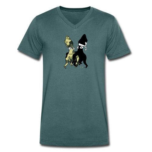 Bio Tshirt Relax ColV LUI - T-shirt bio col V Stanley & Stella Homme