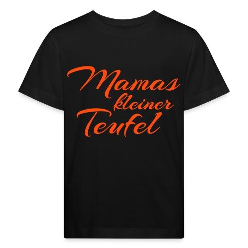 Kinder-Shirt Mamas kleiner Teufel - Kinder Bio-T-Shirt