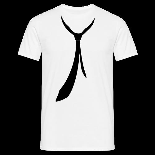 JUSTSOMEMOTION - Black Tie T-Shirts - Männer T-Shirt