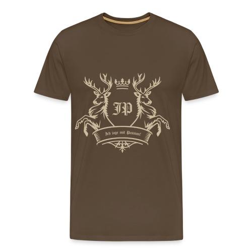 Jagd-Passion - Herren T-Shirt Jagd - Männer Premium T-Shirt