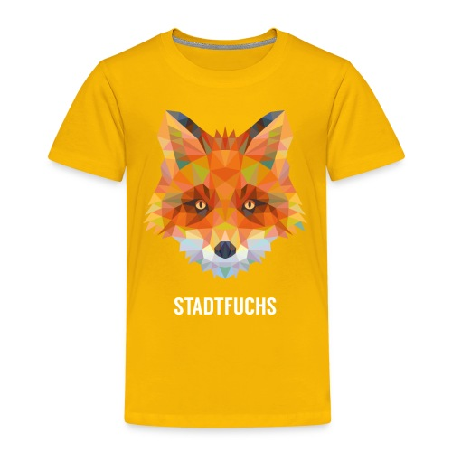 Fuchs, fraktal - Kinder T-Shirt Jagd - Kinder Premium T-Shirt