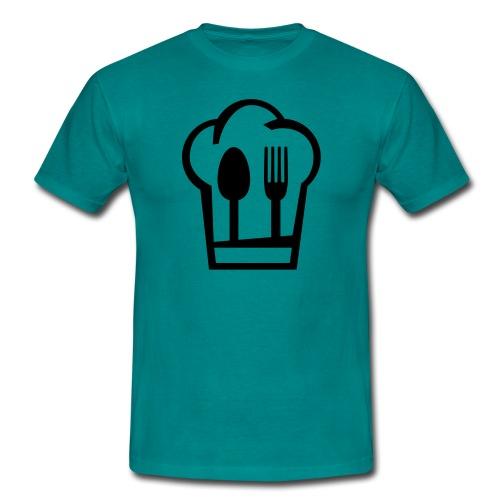 Chefkoch grün - Männer T-Shirt