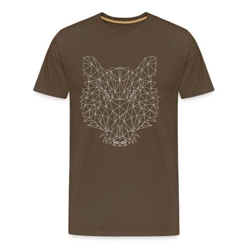 Wildschwein, fraktal - Herren T-Shirt Jagd - Männer Premium T-Shirt