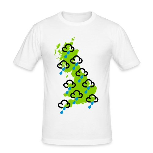 Typical UK Weather - Men's Slim Fit T-Shirt