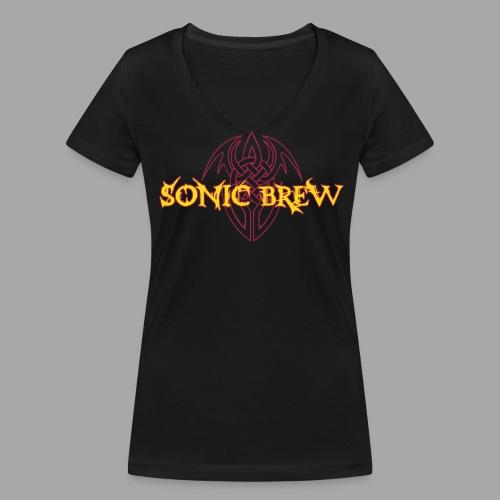SB Girlie Tribal 2farbig - Frauen Bio-T-Shirt mit V-Ausschnitt von Stanley & Stella