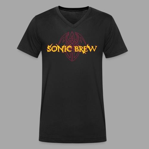 SB Tribal 2farbig mit V - Männer Bio-T-Shirt mit V-Ausschnitt von Stanley & Stella