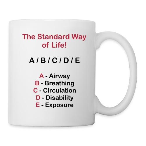 ABC Schema auf deiner Kafeetasse - Tasse