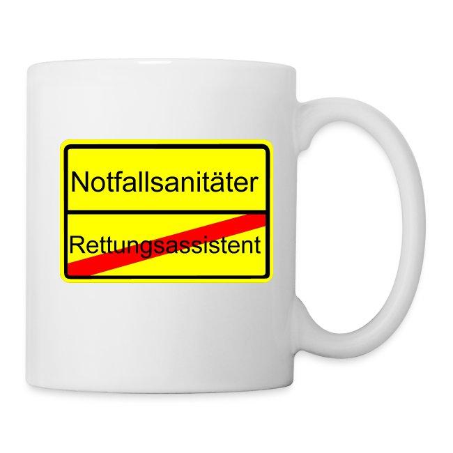 Notfallsanitäter Kaffeetasse