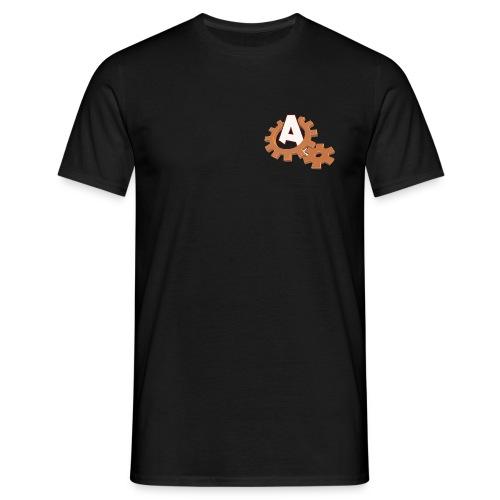 Männer T-Shirt - Shirt mit klassischem Adventure-Treff-Logo. Rechtsbündig.