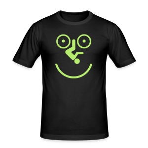 Happy Cyclist - Men's Slim Fit T-Shirt