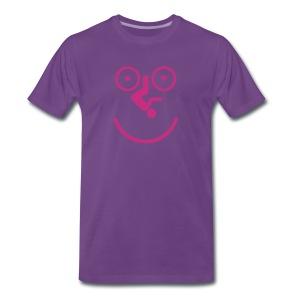 Happy Cycling - Men's Premium T-Shirt