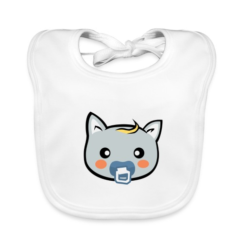 Hungry Cat's Bib - Baby Organic Bib