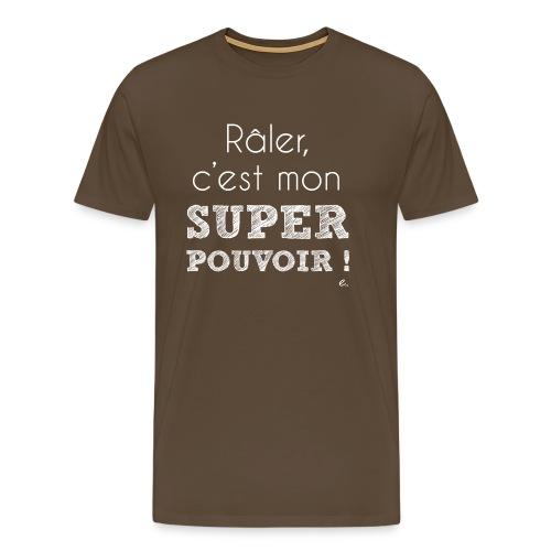 T-Shirt Homme Super Pouvoir - T-shirt Premium Homme