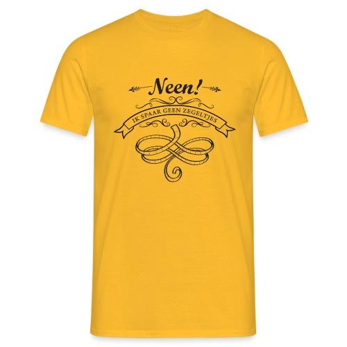 Zegeltjes mannen t-shirt - Mannen T-shirt