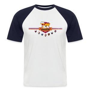 mooseCUP 2015 T-Shirt - Männer Baseball-T-Shirt