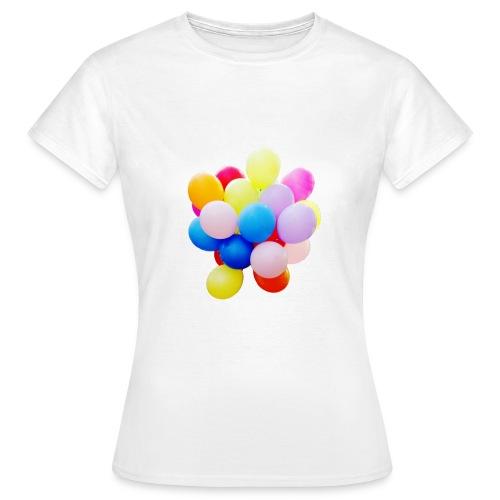 Luftballons für Mädchen - Frauen T-Shirt