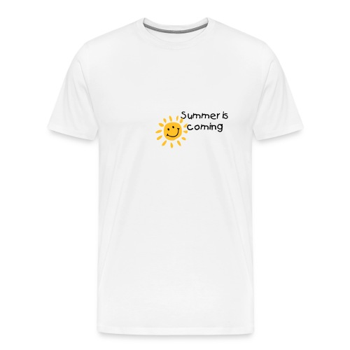 Tee-shirt Homme Summer is coming  - T-shirt Premium Homme