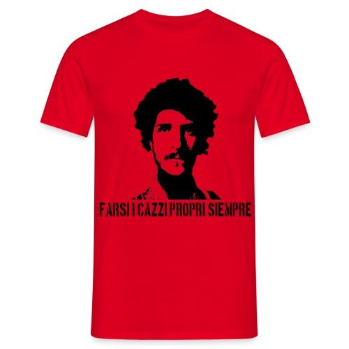 T- shirt FARSI I CAZZI PROPRI SIEMPRE - Maglietta da uomo
