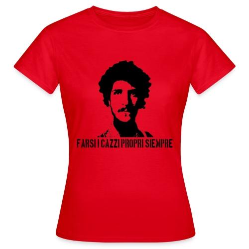 T- shirt (DONNA) FARSI I CAZZI PROPRI SIEMPRE - Maglietta da donna