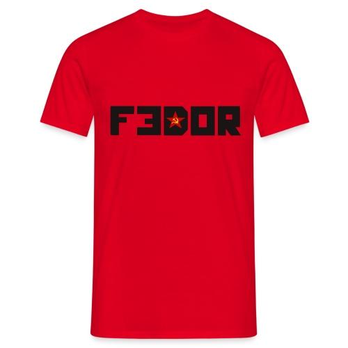 FEDOR - T-skjorte for menn