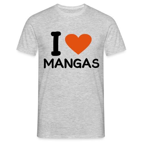 Yo amo el manga - Camiseta hombre