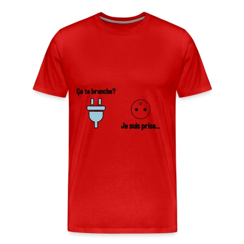 Ca te branche? - T-shirt Premium Homme