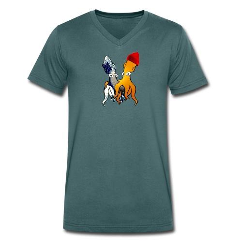 Bio Tshirt Tube ColV LUI - T-shirt bio col V Stanley & Stella Homme