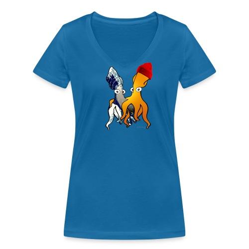 Bio Tshirt Tube ColV ELLE - T-shirt bio col V Stanley & Stella Femme