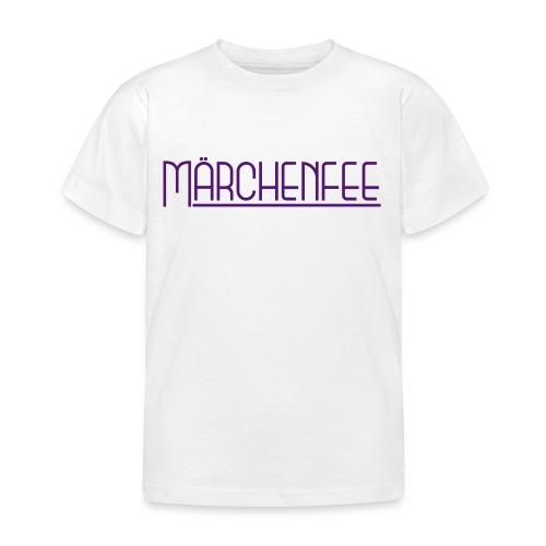 Kinder-Shirt Märchenfee - Kinder T-Shirt