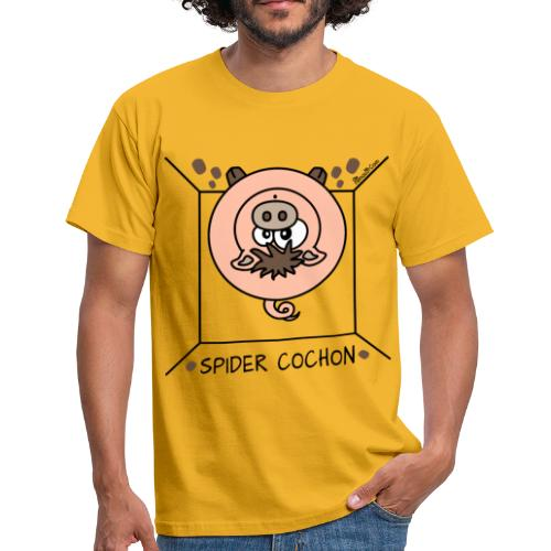 Tee shirt Homme, Spider Cochon, Homer Simpson - T-shirt Homme