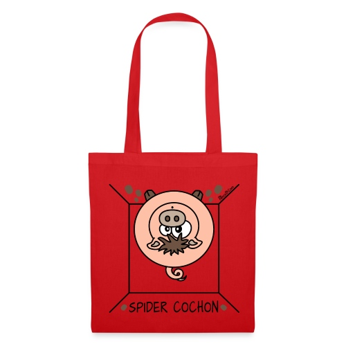 Tote Bag, Spider Cochon, Homer Simpson - Tote Bag
