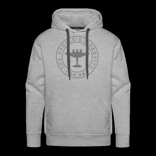 Men's MP Hoodie - Grey/Grey - Men's Premium Hoodie