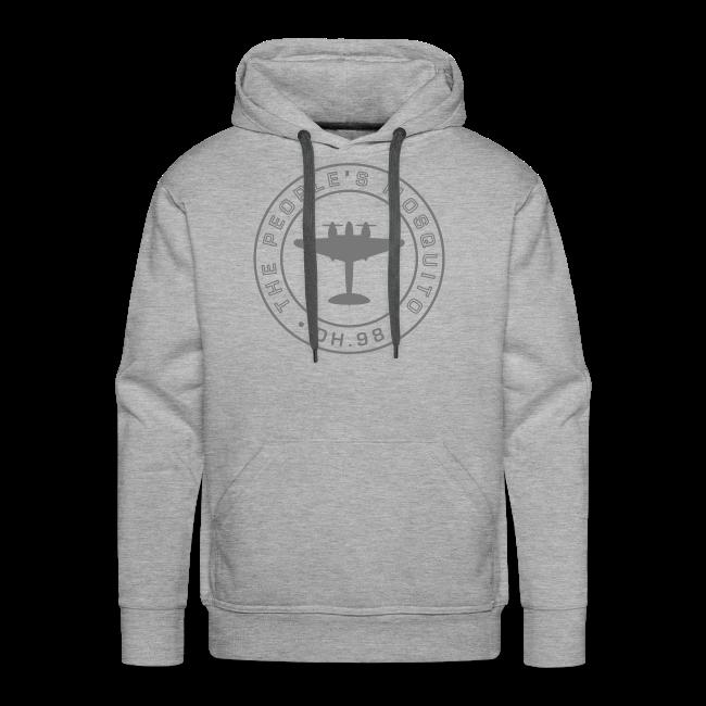 Men's MP Hoodie - Grey/Grey