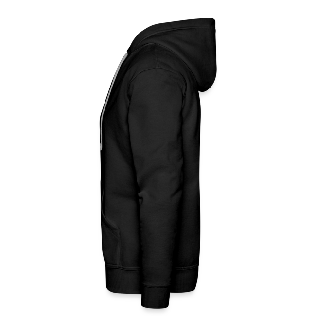 Men's Premium MP Hoodie - Black/Grey