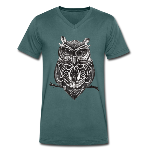 The Owl - Men's V-Neck T-Shirt