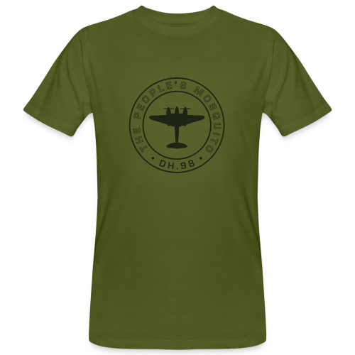 Men's Chest MP Logo Organic T-Shirt - Green - Men's Organic T-shirt