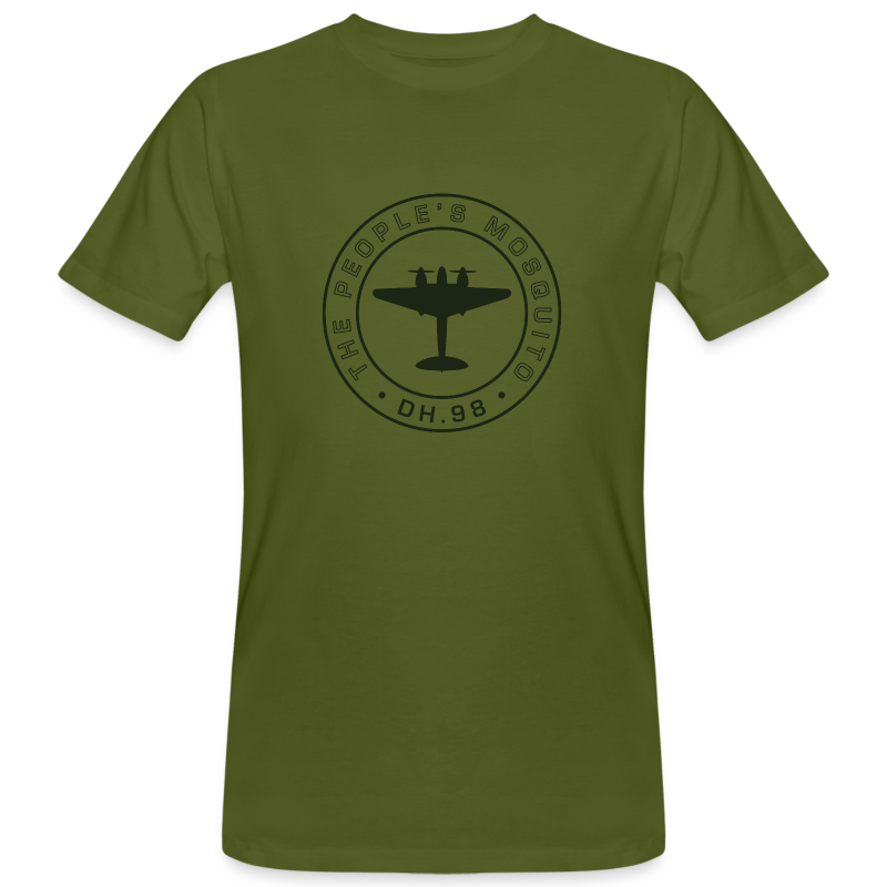 Men's Chest MP Logo Organic T-Shirt - Green - Men's Organic T-shirt